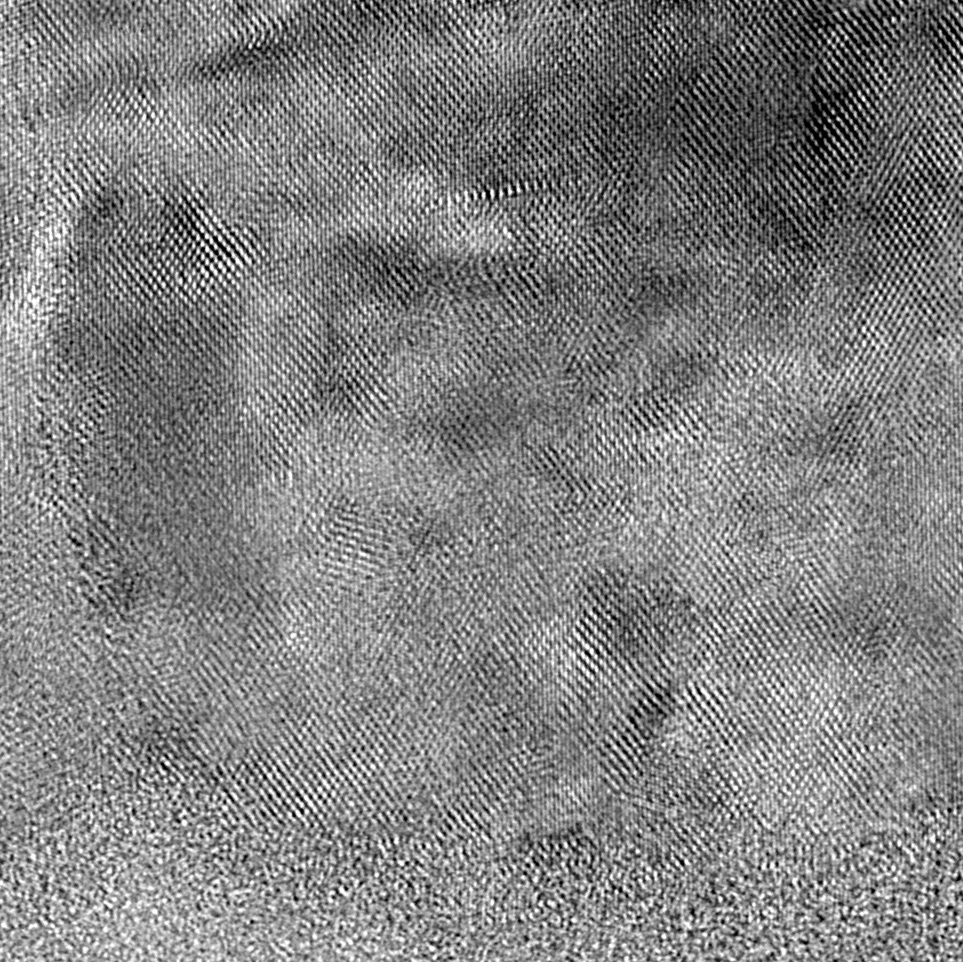 <p>Ultra high resolution brightfield TEM image captured with the 4k Gatan OneView camera.</p>
