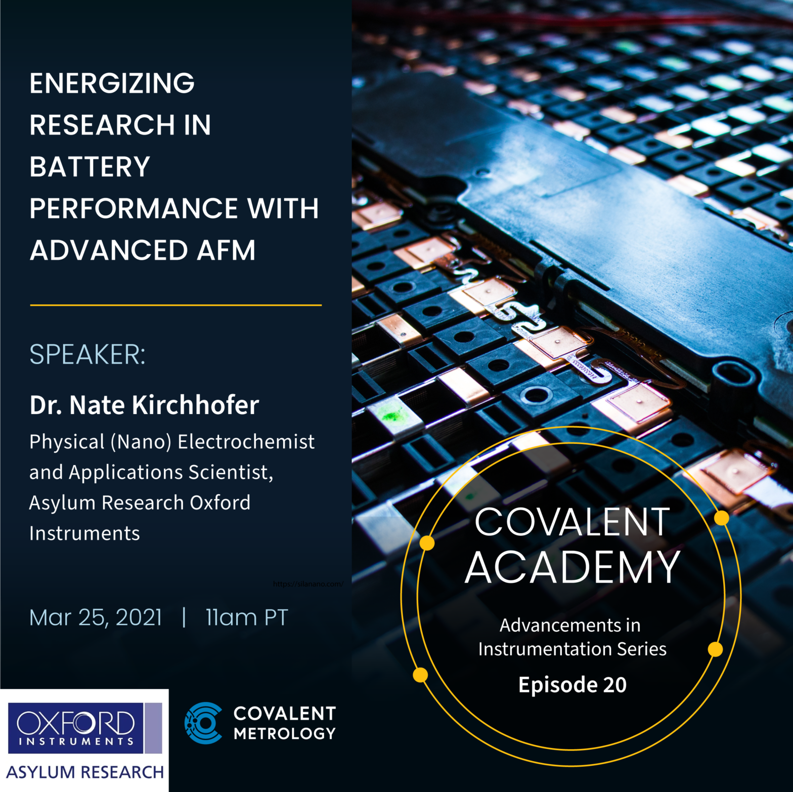 Covalent Academy Ep20 AFM for Battery Performance Research