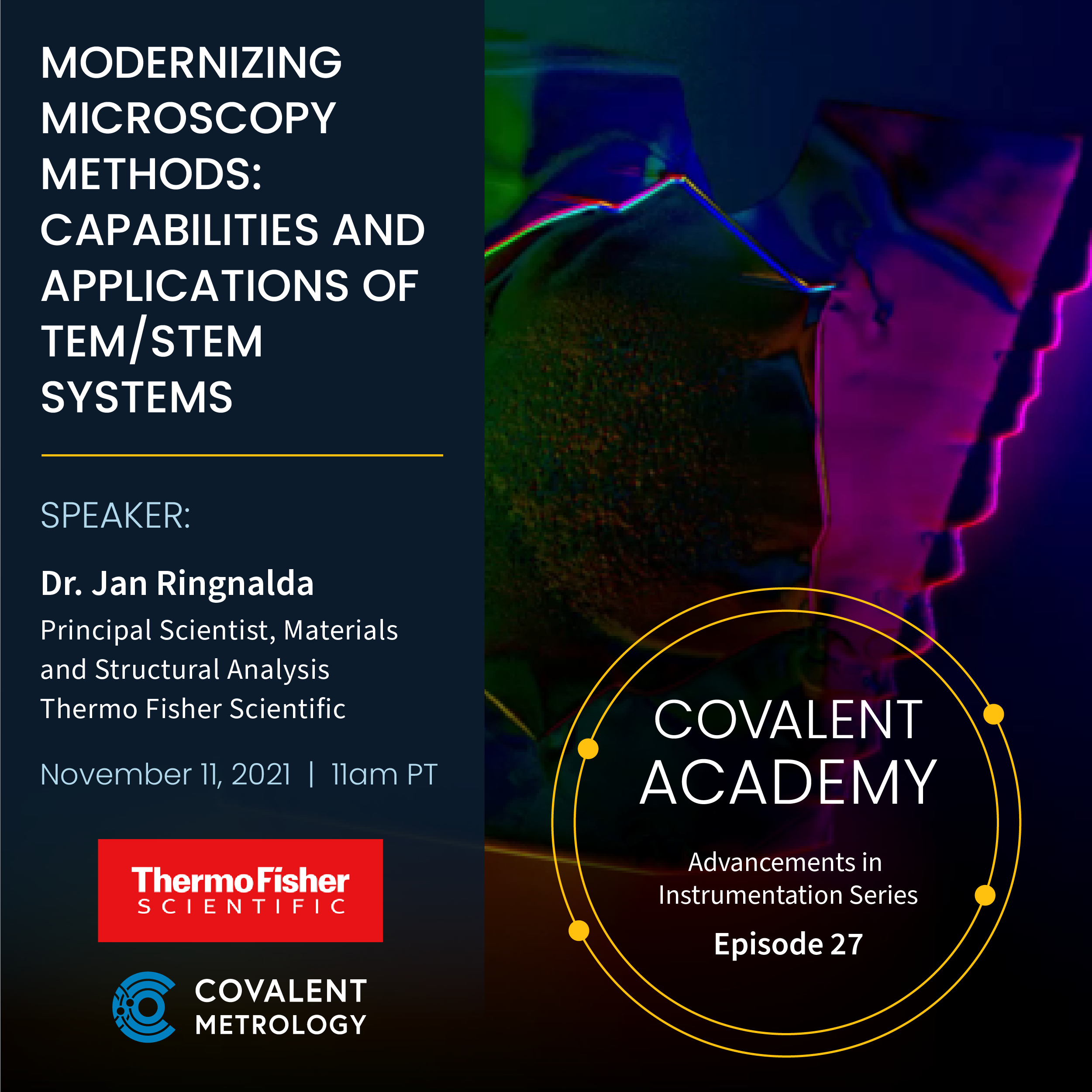 Modernizing Microscopy Methods: Capabilities and Applications of TEM/STEM Systems